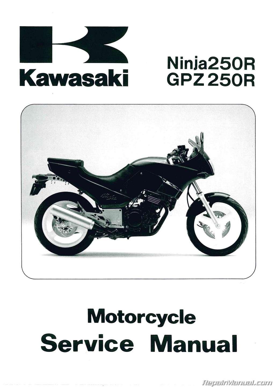 99924-1066-01 1986 - 2007 Kawasaki EX250 Ninja EL250 Motorcycle Eliminator Service  Manual: Manufacturer: Amazon.com: Books
