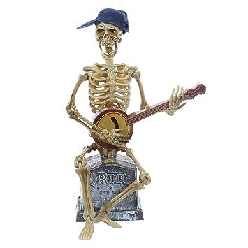 PRECIO en el palo® Halloween figura Guitarra jugador