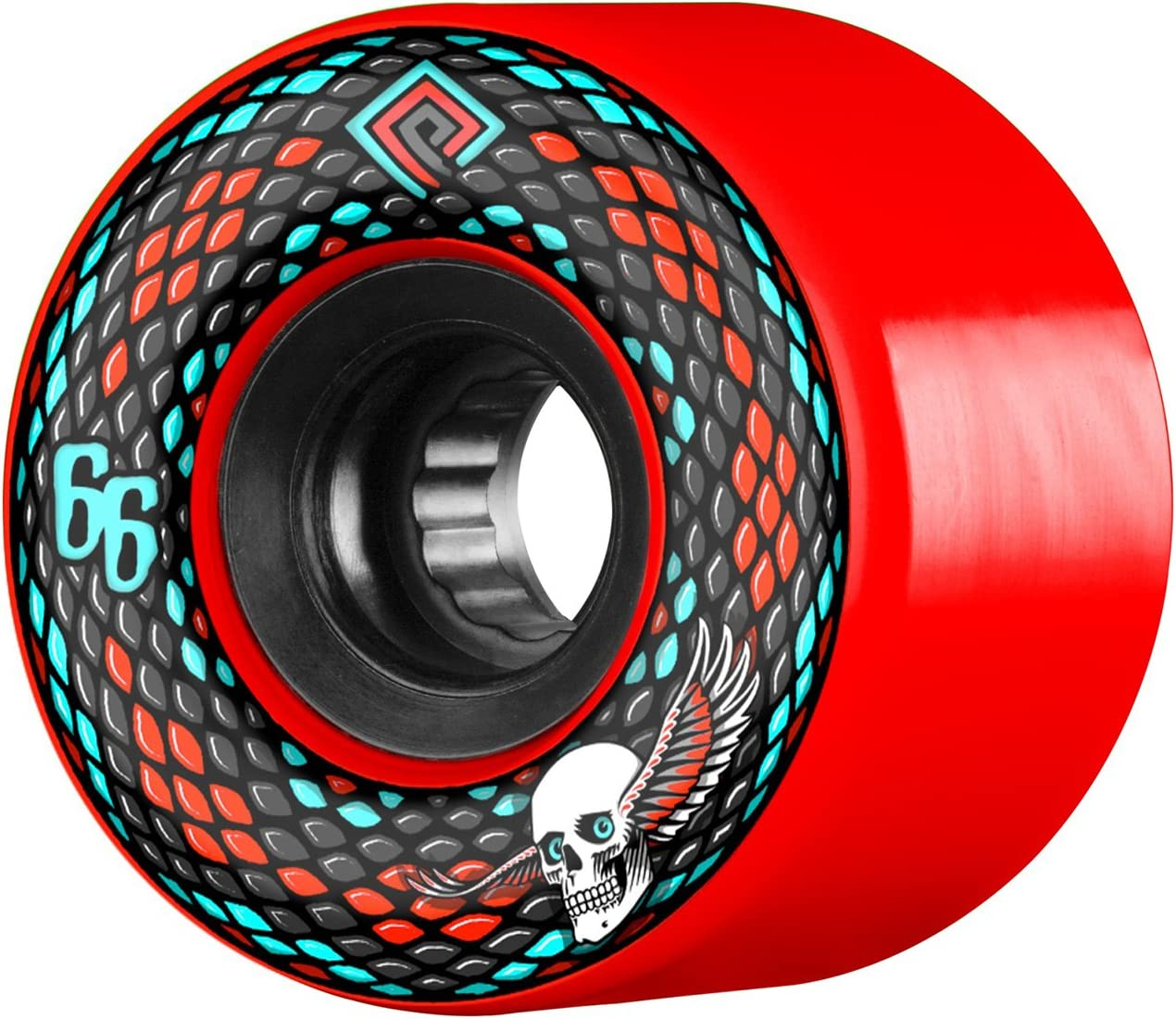 Powell Peralta Snakes 66mm 75a Red Skateboard Wheels Sports Outdoors Amazon Com