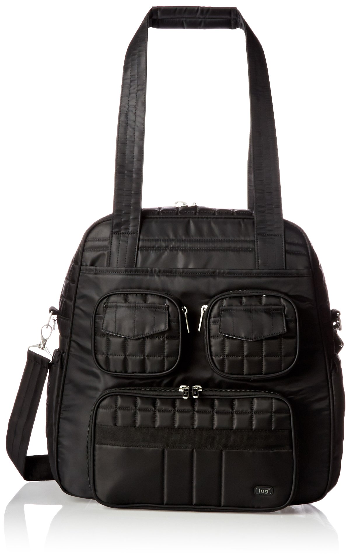 Lug Puddle Jumper Overnight/Gym Bag, Midnight Black by Lug (Image #1)