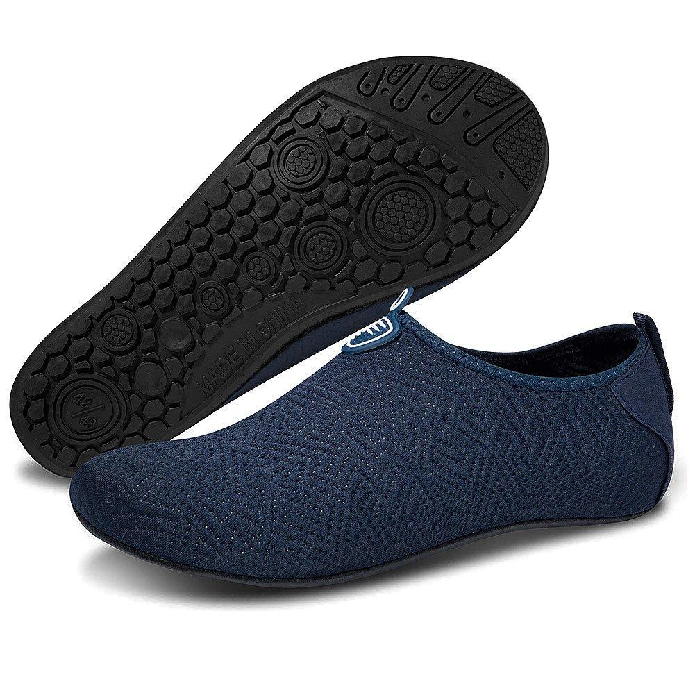 Msjenny Chaussures Aquatiques pour Homme Femme Chaussures de Yoga de Nager de...
