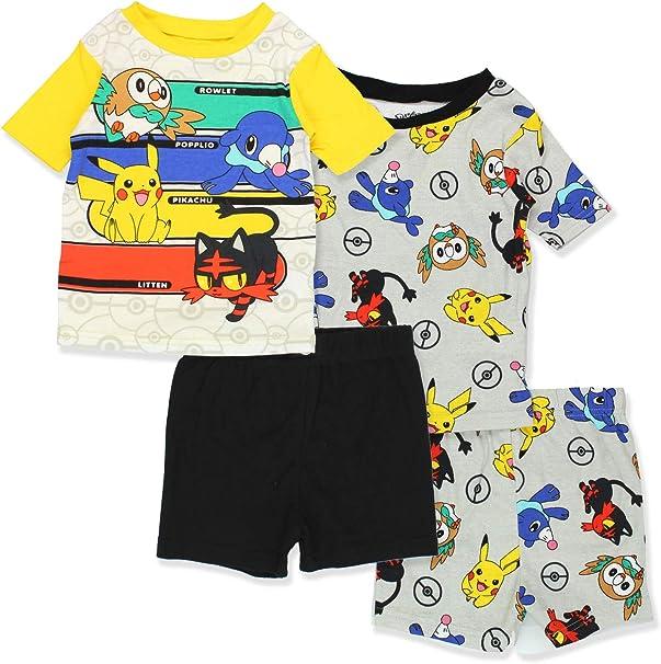 Pokemon 2 PC Long Sleeve Pajama Set Boy Size 8