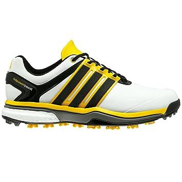 sports shoes 5b74c a086f adidas Adipower Boost Golf Schuhe WeißCore BlackBright Yellow, Herren,  White