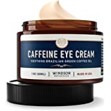 Anti-Aging Caffeine Eye Cream - Windsor Botanicals Age-Defying AHA Formula - Moisturizes, Reduces Wrinkles, Dark Circles…