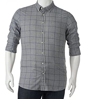 203a443fedea99 SONOMA Men's Goods For Life Poplin Button Down Shirt (XL, Dotprint ...
