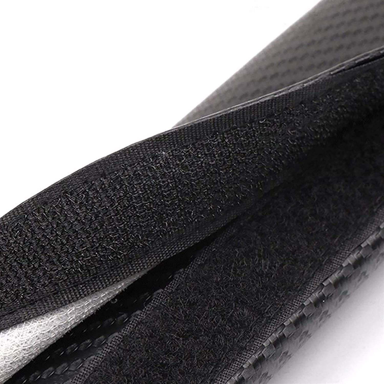 mit Logo Kohlefaser-Sicherheitsgurtpolsterschutzschutz for LAN-D Rover Ran-ge Rover Farbe : Black+Red yuhho Autogurt Polster 2 ST/ÜCKE Sicherheitsgurt Schultern Pads