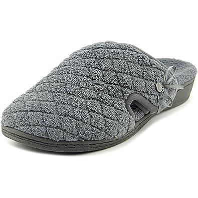b8812abbcf2c0 Vionic Womens Adilyn Scuff Slipper, Dark Grey, 8 B(M) US: Amazon.co.uk:  Shoes & Bags