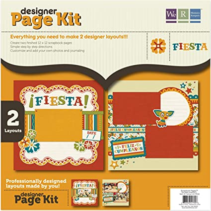 Amazon.com: We R Memory Keepers - Fiesta Collection - 12 x ...