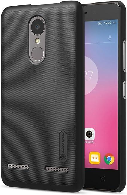 NAVT Calidad cáscara de la Funda case cover protectora de alta dura para Lenovo K6 Power smartphone +1* Protector de pantalla (negro): Amazon.es: Electrónica