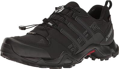 En la cabeza de coger un resfriado capa  Amazon.com: adidas outdoor Men's Terrex Swift R GTX Black/Black/Dark Grey  Hiking Shoe: Sports & Outdoors