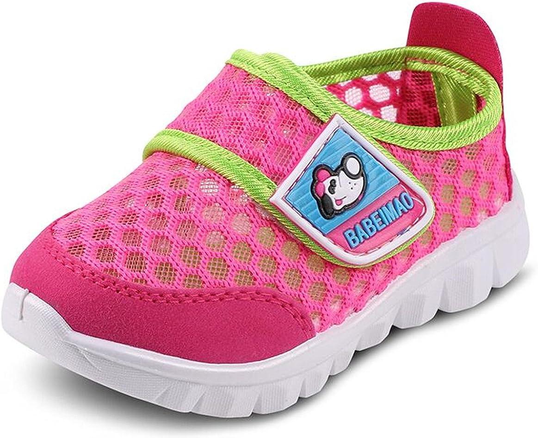 DADAWEN Babys Boys Girls Water Shoes Lightweight Breathable Mesh Running Walking Sneaker Sandal