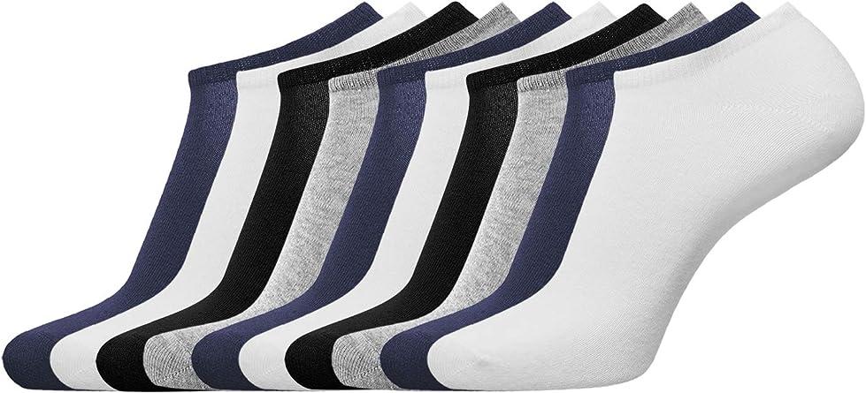 oodji Ultra Hombre Calcetines Cortos (Pack de 10), Multicolor, ES ...