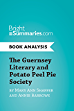 an analysis of awakenings in the guernsey literary and potato peel pie society by mary ann shaffer a The guernsey literary and potato peel pie society by mary ann shaffer and annie barrows is an epistolary novel about juliet ashton's association with a fascination literary society that started due to the german occupation of the channel islands during world war ii.