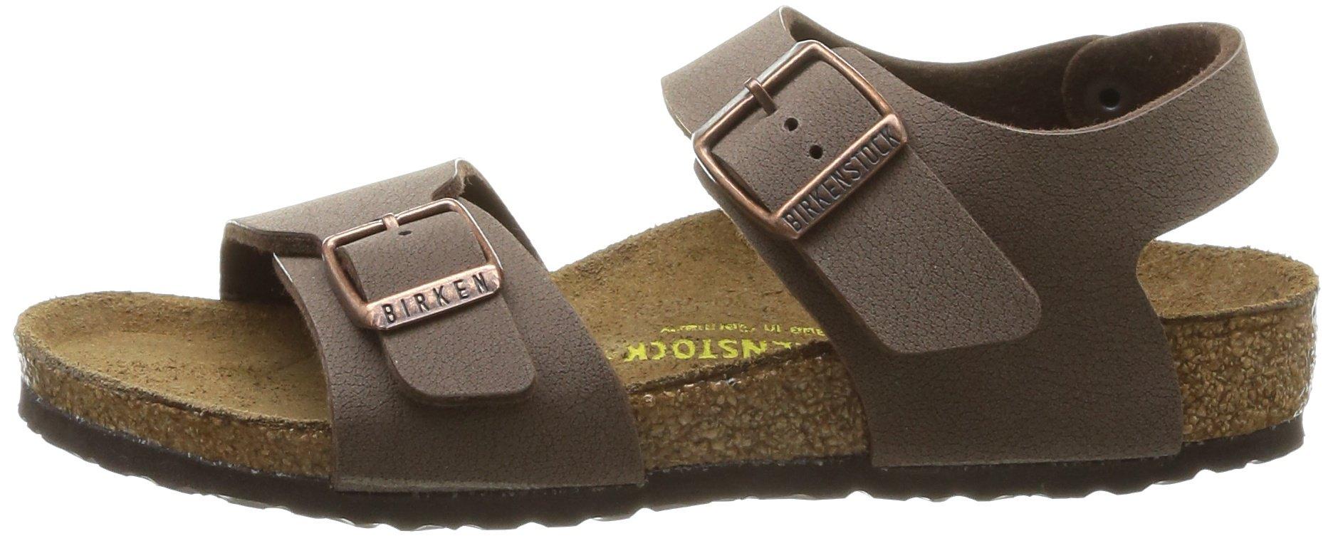 Birkenstock Unisex-Child New York Kids Mocca Birkibuc Sandals 24.0 N EU N 087783 by Birkenstock (Image #5)