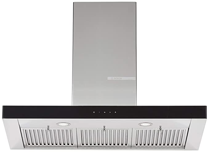 Bosch 90cm 800 m3/hr Chimney (DWB098G50I, 3 Baffle Filters, Touch Control, Steel/Grey)