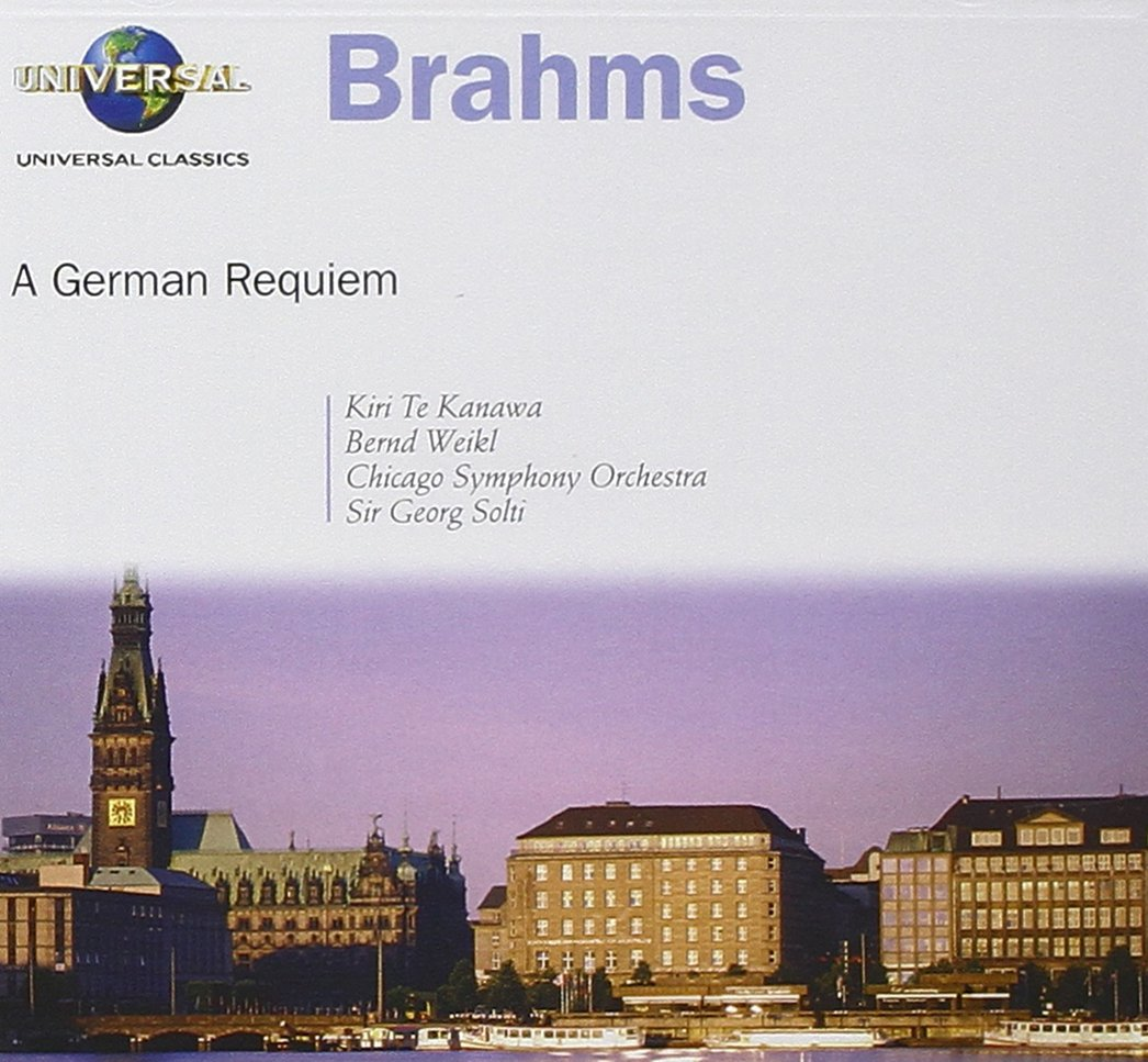 CD : Georg Solti - German Requiem