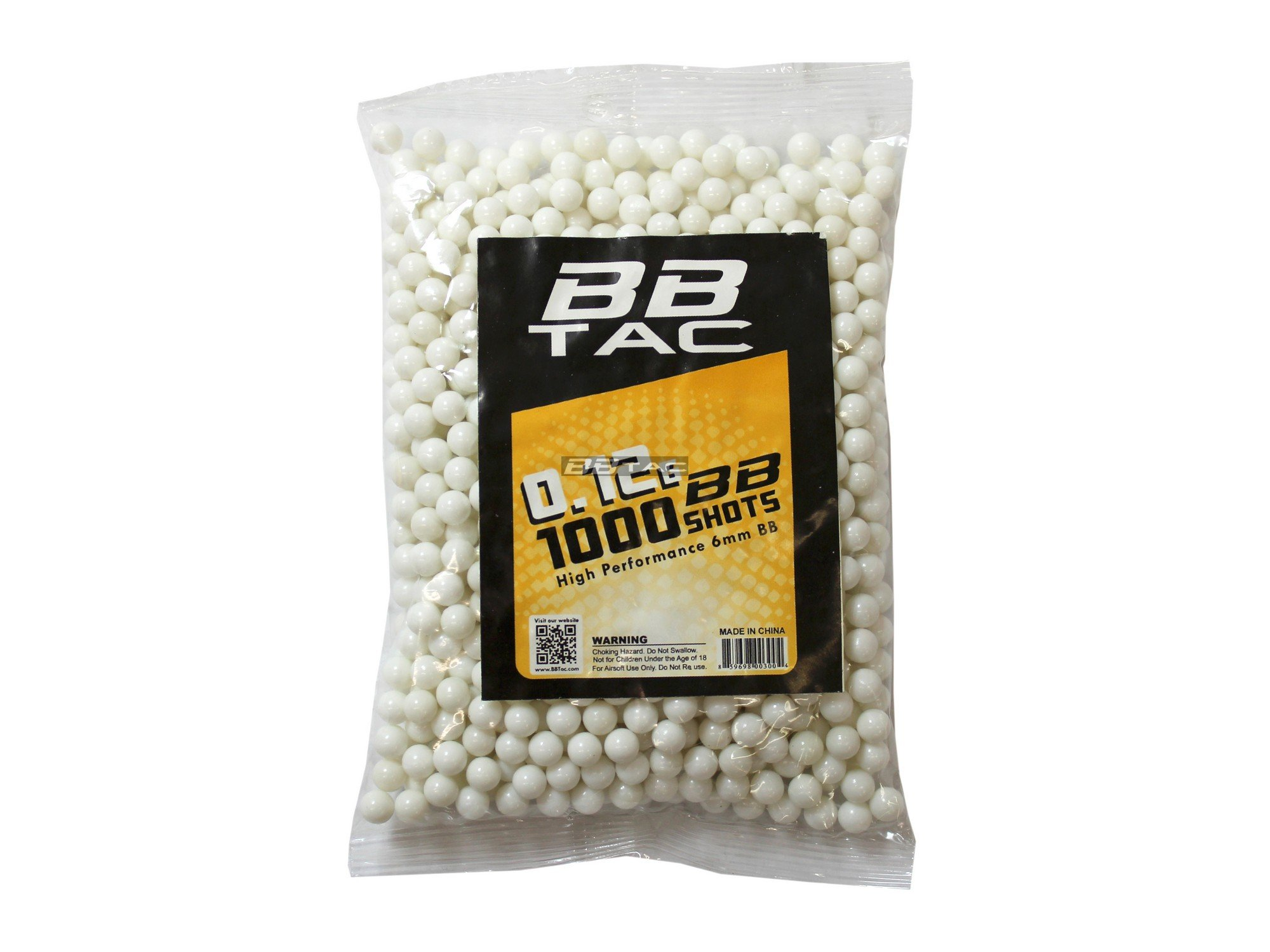 BBTac Airsoft BB 11000 Round 0.12g 6mm BBs for Airsoft Guns Ammo Pallet