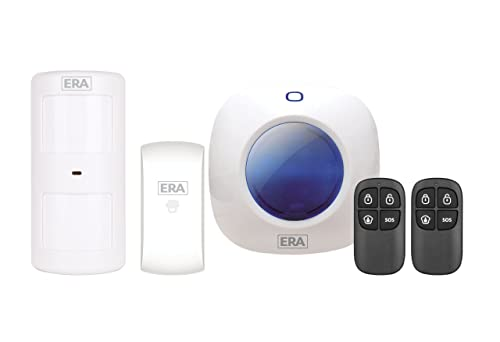 ERA miGuard A105 Wireless Apartment/Starter Burglar Intruder Alarm System, White