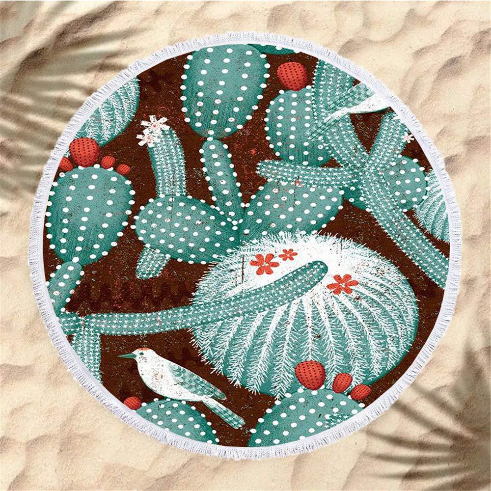 WENXIAOXU Toalla de Playa de Secado rápido, Toalla sin Arena ...