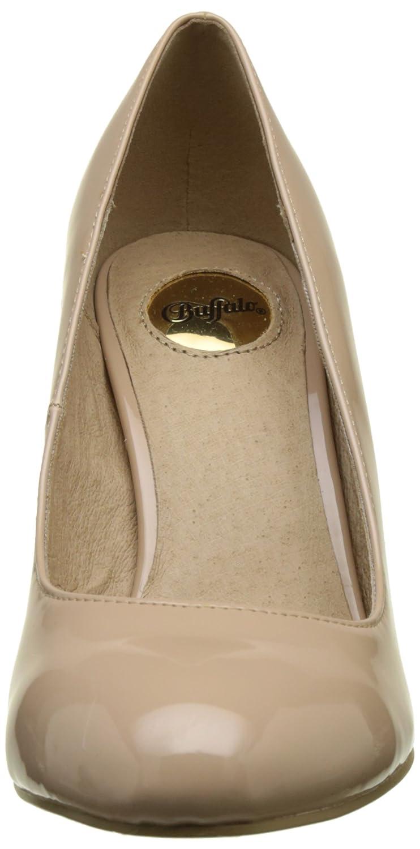 Buffalo C473a-1 P2010f Beige Pu Patent, Scarpe con Tacco Donna Beige P2010f Nude 01) 883cbc