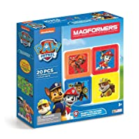 Magformers 66002 Building Kit, Paw Patrol Colors