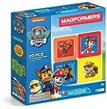 Magformers 麦格弗 磁力片 儿童磁性积木益智拼装玩具 狗狗巡逻队 20件装