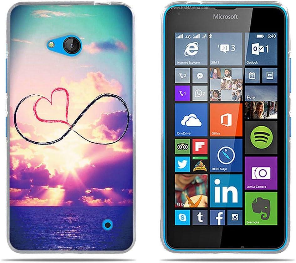 DIKAS Funda para Nokia Microsoft Lumia 640, 3D Realzar Carcasas ...