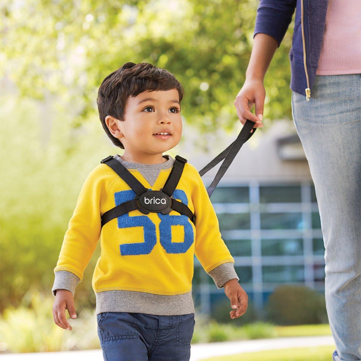 Brica By Munchkin Mochila Infantil Con Arn/és De Seguridad By-My-Side B/úho Azul