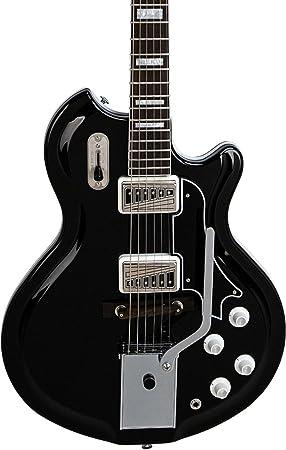 Supro Coronado II Vibrato Semi-Hollow guitarra eléctrica: Amazon.es ...