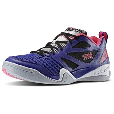 c2ede9a1809 Reebok Men s Blacktop Avenue Basketball Shoe Ultima Purple Pink White ...