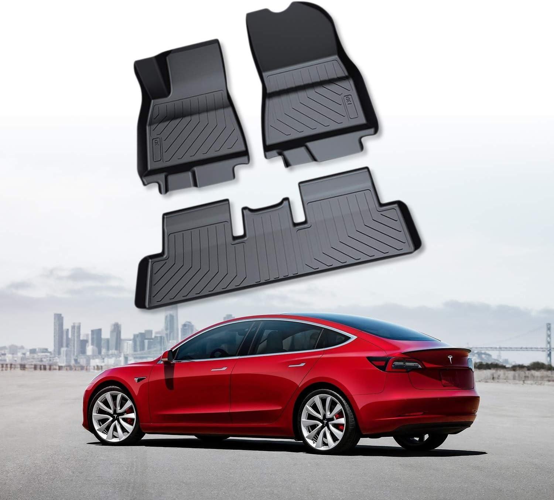 Tesloid All Weather Heavy Duty Floor Mats for Tesla Model S