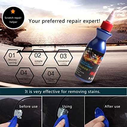 Amazon Com Car Paint Scratch Removal Repair Liquid Wax Car Scratch
