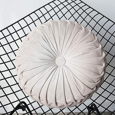 Amazon.com: Almohadillas redondas de terciopelo para silla ...