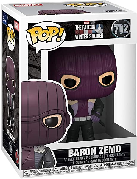 The Falcon and The Winter Soldier Pop! Vinyl Figures