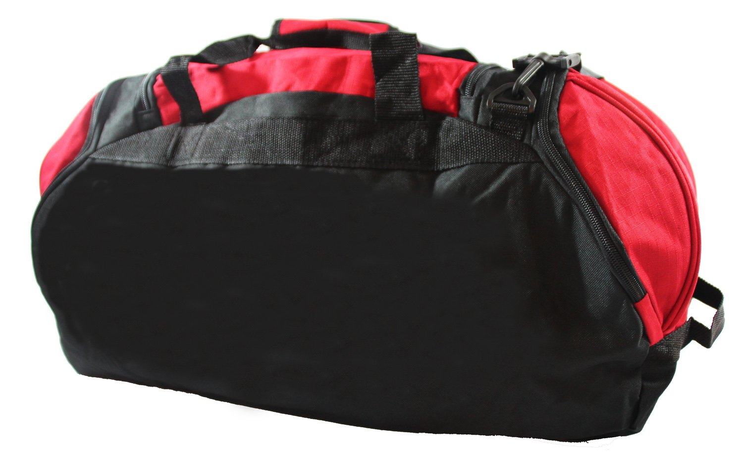 Xtitix Sport Gym Travel Deluxe Rip Stop Stylus Duffel Bag, 25'' L, Red by Xtitix (Image #3)