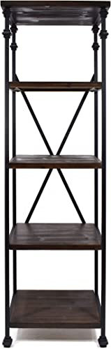 Reviewed: Christopher Knight Home Annabelle Industrial Four Shelf Bookcase
