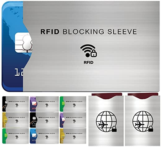 51 opinioni per Set da 12 Custodie Blocco RFID- Set Custodie Decorate La Protezione di Carte di