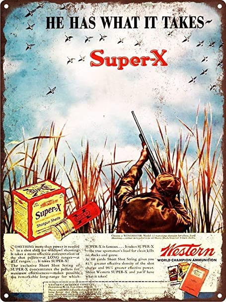 HiSign Super-x Bullet Retro Cartel de Chapa Coffee Póster ...