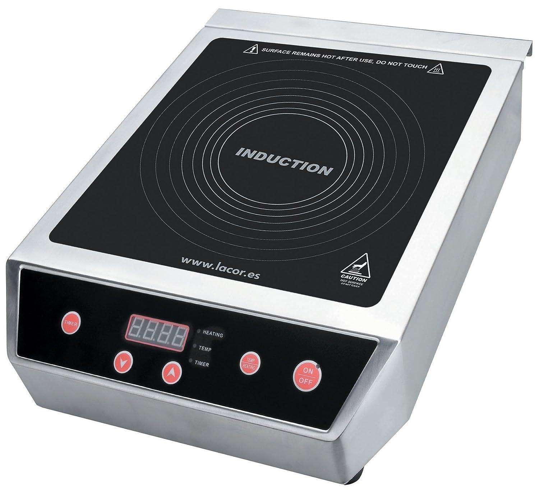 Cuisineonly - Placa de inducción - 3500 W. Cocina: de Horno (Placa ...
