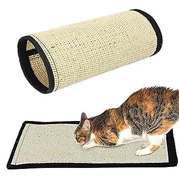 Hihamer Alfombra griffoir Nature para Gatos - en sisal Resistente Producto Natural - Sin Substances químicos - 40 x 30 cm: Amazon.es: Productos para ...