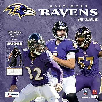 Amazon.com: Baltimore Ravens 2018 Wall Calendar: Home & Kitchen