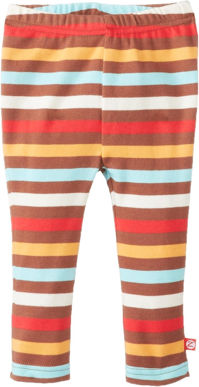 Zutano Baby Girls Primary Stripe Skinny Legging
