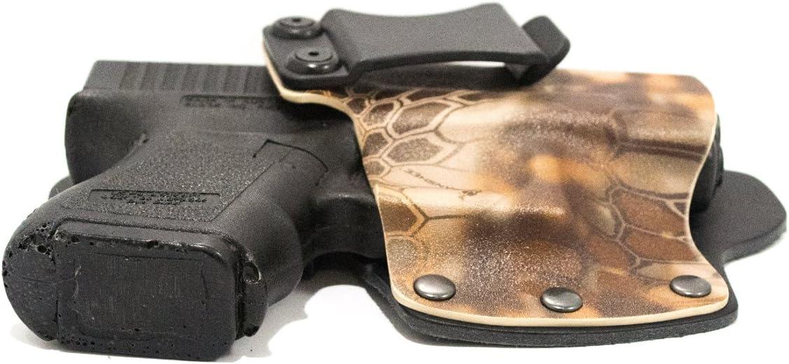 Kydex /& Leather IWB Hybrid Concealed Carry Holster Kryptek Banshee Bersa