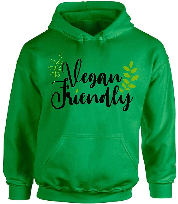 Awkward Styles Vegan Friendly Unisex Hoodie Vegetarian Hoodie Vegan Sweater Green Hoodie
