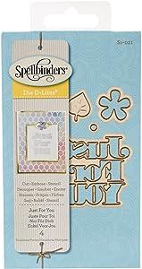 Spellbinders Die D-Lites Just for You Etched/Wafer Thin Dies