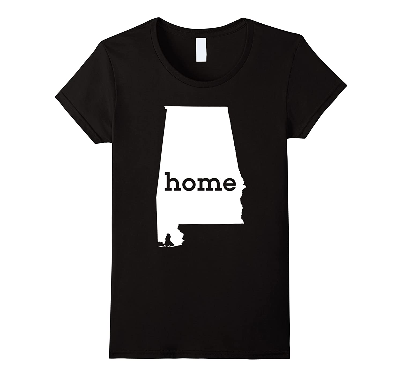 Alabama Home T Shirt-Teehay