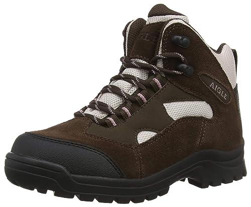 cbe9686b8e6 Aigle Women's Beaucens Lady High Rise Hiking Shoes: Amazon.co.uk ...