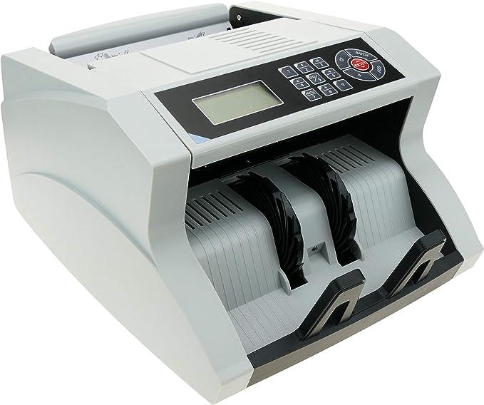 Cablematic – Contador Note y Detector de 5 détections Falsos UV IR MG1 MG2 Talla: Amazon.es: Electrónica