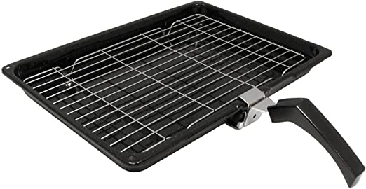 Extra Large Cooker Oven Grill Pan /& Rack Detachable Handles For Cannon Ovens