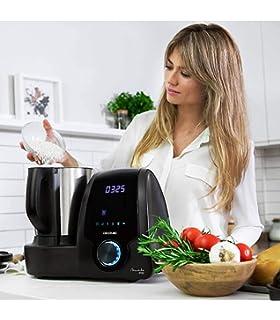Cecotec Robot de Cocina Multifunción Mambo 7090 + Microondas White: Amazon.es: Hogar